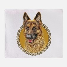 German Shepherd (Alsation) 001 Throw Blanket