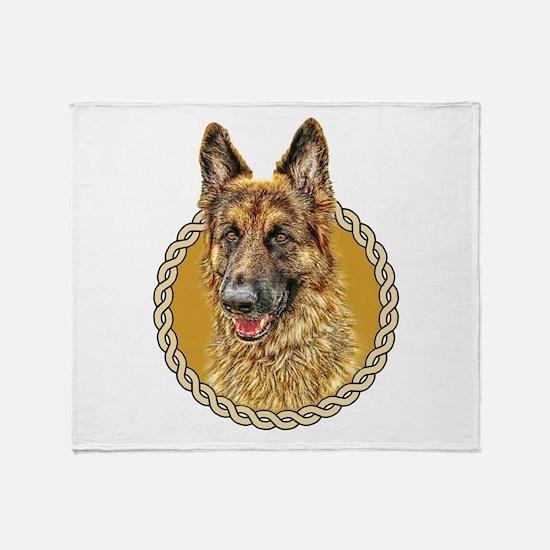 German Shepherd (Alsation) 001 Throw Blanket
