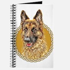German Shepherd (Alsation) 001 Journal