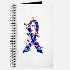 Christmas Lights Ribbon Anal Cancer Journal