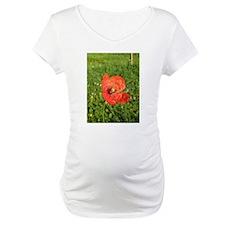 Single Red Poppy Shirt