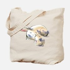 Rabbits Tote Bag