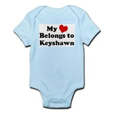 My Heart: Keyshawn Infant Creeper