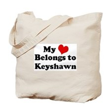 My Heart: Keyshawn Tote Bag