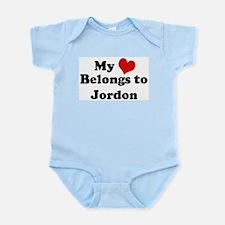 My Heart: Jordon Infant Creeper