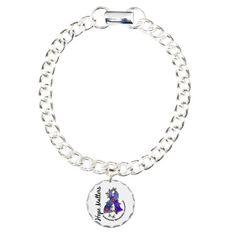 AS Hope Matters Charm Bracelet, One Charm