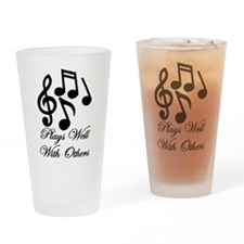 Make Music Drinking Glass