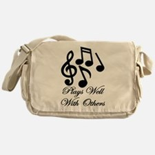 Make Music Messenger Bag
