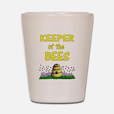 Keeping bees Shot Glass
