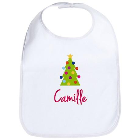 Christmas Tree Camille Bib