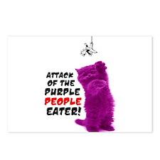 Purple People Eater Postcards (Package of 8)