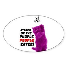 Purple People Eater Decal