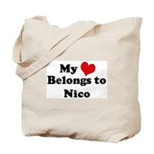 My Heart: Nico Tote Bag