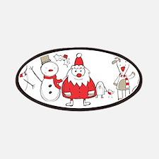 Snowman-Santa-Reindeer-Pengui Patches