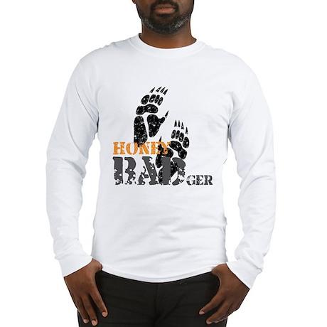 Honey Badger Don't care Long Sleeve T-Shirt