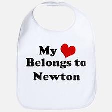 My Heart: Newton Bib