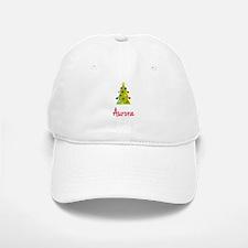 Christmas Tree Aurora Baseball Baseball Cap