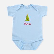 Christmas Tree Aurora Onesie