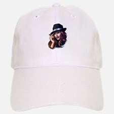 Smoking Gangster Girl Baseball Baseball Cap