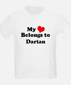 My Heart: Darian Kids T-Shirt
