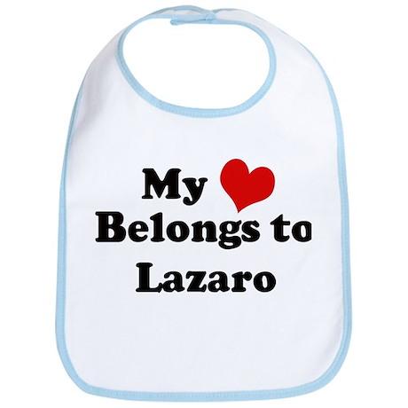 My Heart: Lazaro Bib