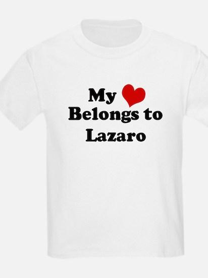 My Heart: Lazaro Kids T-Shirt