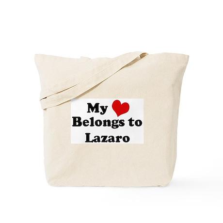 My Heart: Lazaro Tote Bag