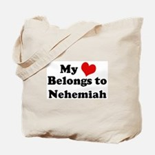 My Heart: Nehemiah Tote Bag