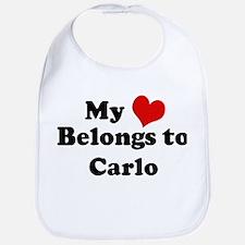 My Heart: Carlo Bib
