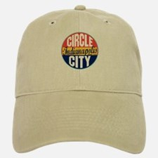 Indianapolis Vintage Label Baseball Baseball Cap