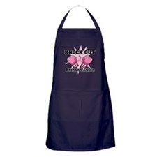 Knock Out Breast Cancer Apron (dark)
