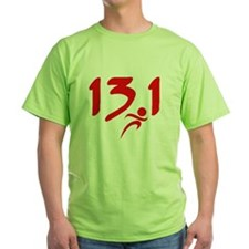 Red 13.1 half-marathon T-Shirt
