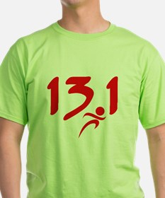 Red 13.1 half-marathon T-Shirt