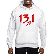 Red 13.1 half-marathon Hoodie