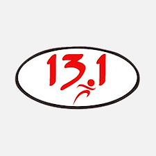Red 13.1 half-marathon Patches