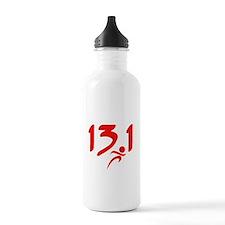 Red 13.1 half-marathon Water Bottle