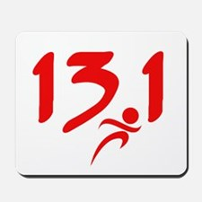 Red 13.1 half-marathon Mousepad