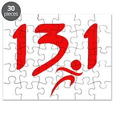 Red 13.1 half-marathon Puzzle