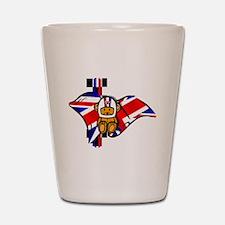 British Racing Shot Glass