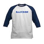 Randon Kids Baseball Jersey