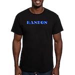 Randon Men's Fitted T-Shirt (dark)