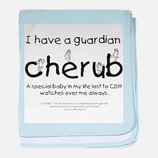 Guardian Cherub baby blanket