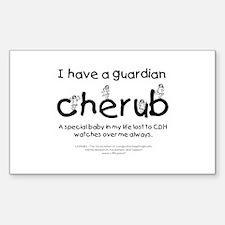 Guardian Cherub Decal