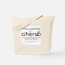 Guardian Cherub Tote Bag