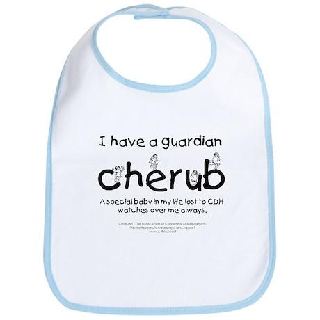 Guardian Cherub Bib