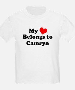 My Heart: Camryn Kids T-Shirt