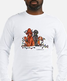 Dog Christmas Party Long Sleeve T-Shirt