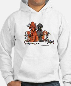 Dog Christmas Party Jumper Hoody