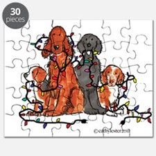 Dog Christmas Party Puzzle