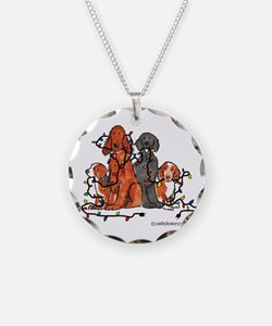 Dog Christmas Party Necklace